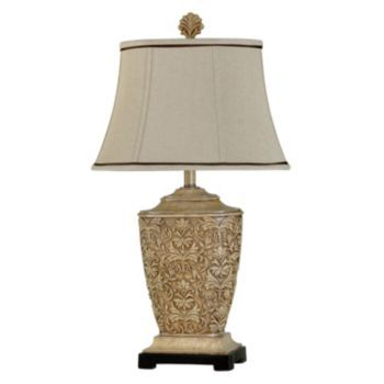Kohls Table Lamps Delectable Kohl's Cream Carved Table Lamp House