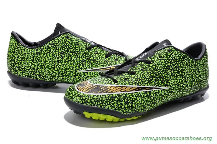 outlet store 5f76c 0c868 ... reduced nike mercurial victory x tf green gold leopard mens cleats  d6df3 ba550