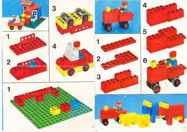 Notice de montage lego a imprimer l go pinterest - Modele de construction lego ...