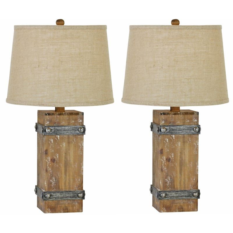Aspire Home Accents 8580 Brockton Ii Table Lamp Set Of 2 Brown Lamps Lamp Sets Table Lamps Table Lamp Sets Table Lamp Lamp Sets