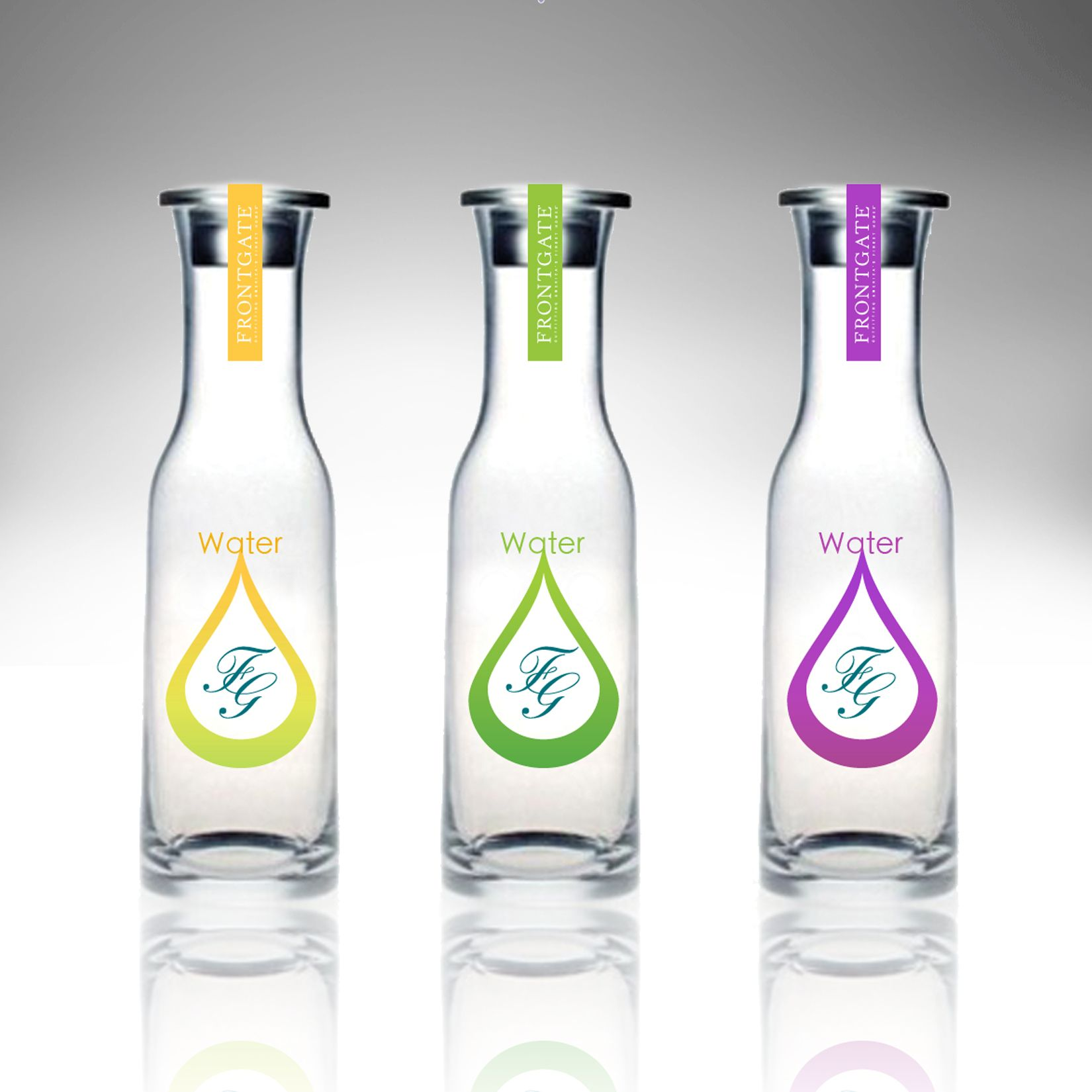 water bottles by Olga Cuzuioc Sinchevici at Coroflot.com