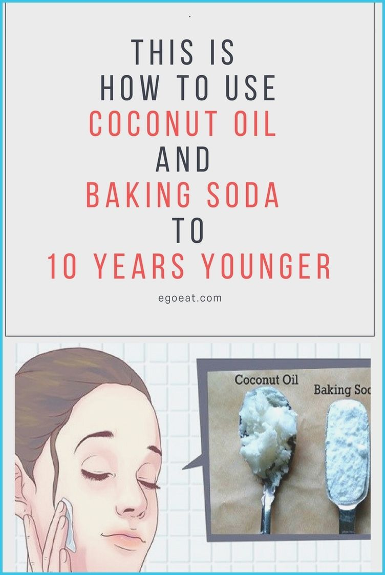 This Is How To Use Coconut Oil And Baking Soda To