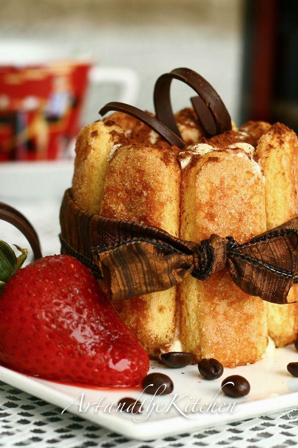 Tiramisu in individual servings, the ultimate Italian dessert! artandthekitchen.com