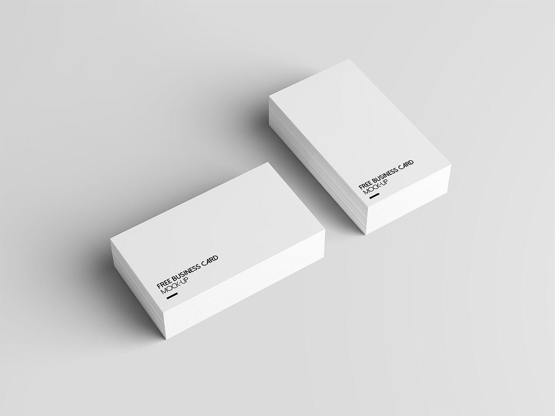 4 Free Business Card Mock Up Free Mockup Free Business Card Mockup Business Card Mock Up Free Business Cards