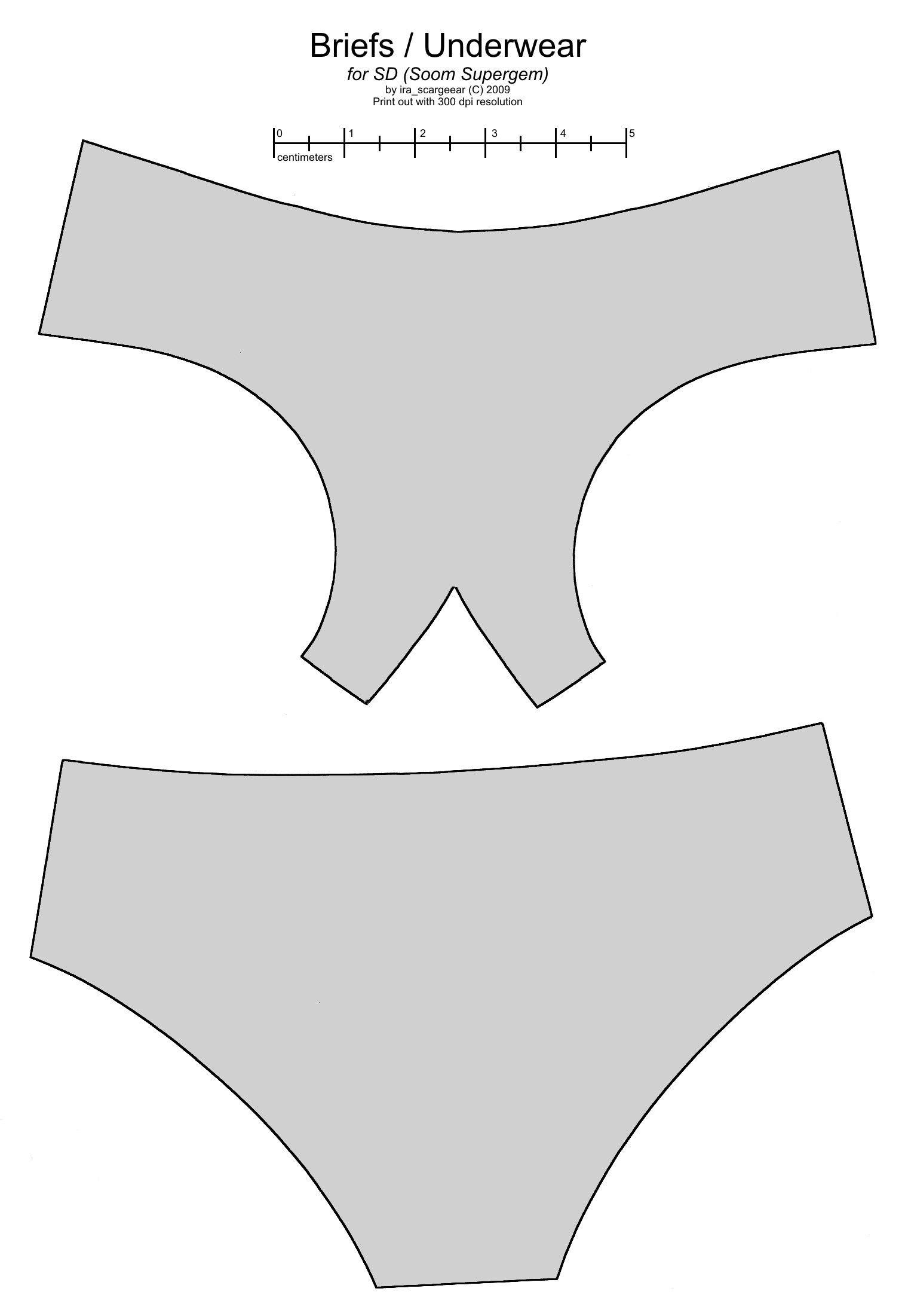 SD BJD (Soom Supergem) underwear by scargeear.deviantart.com on ...