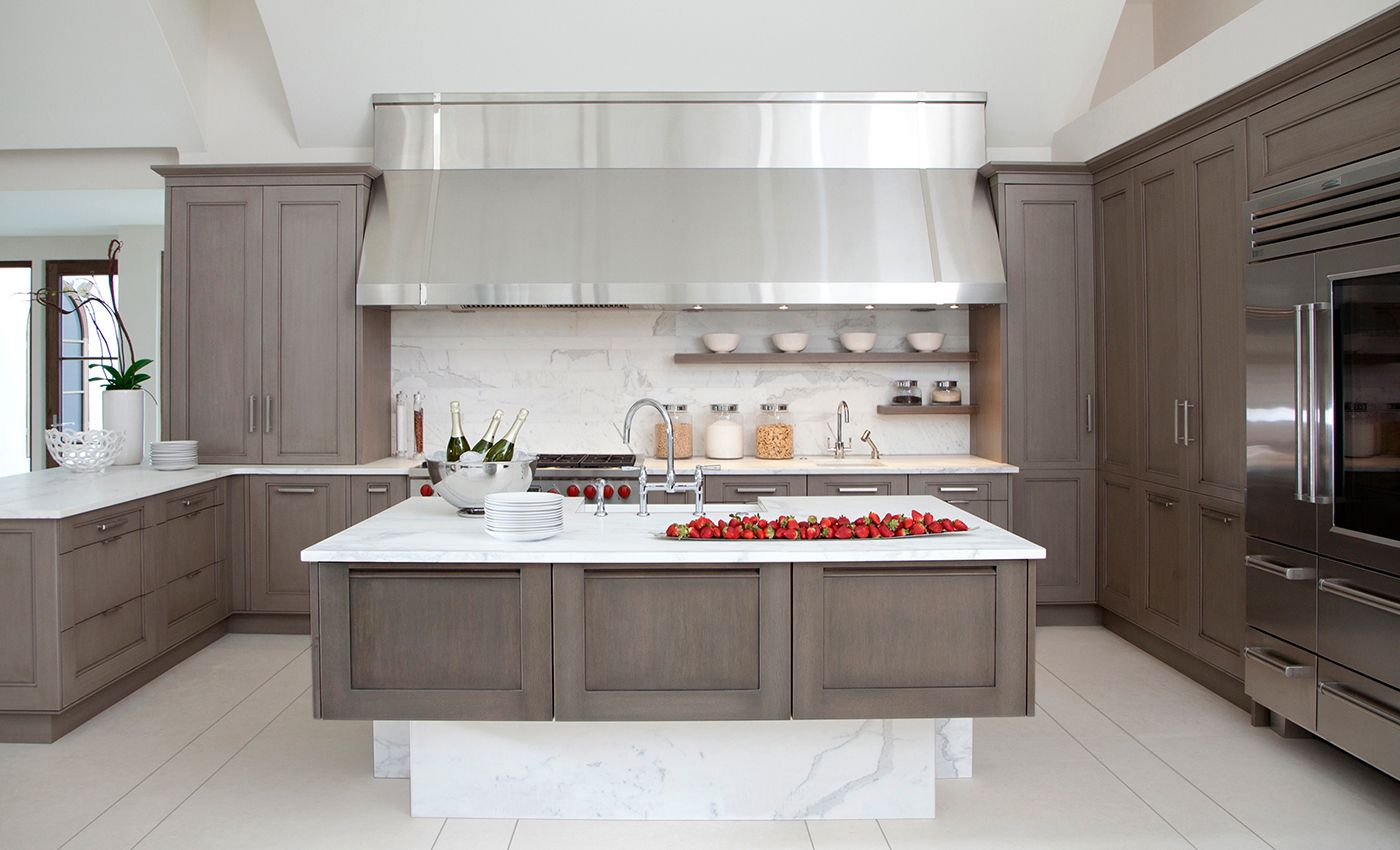 Transitional William Ohs Contemporary Kitchen Grey Kitchen Cabinets Kitchen Cabinet Design