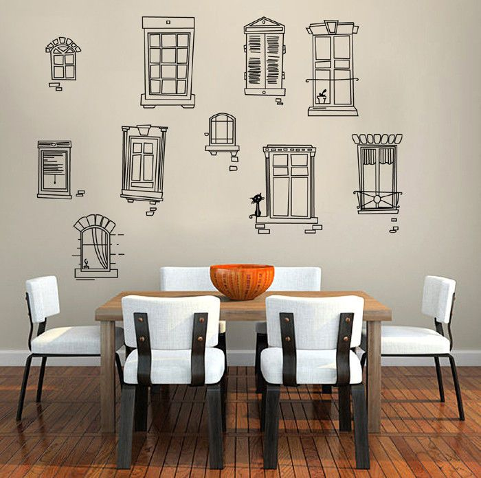 Removable Wall Decal Sticker Vinyl Paris French Country Provance