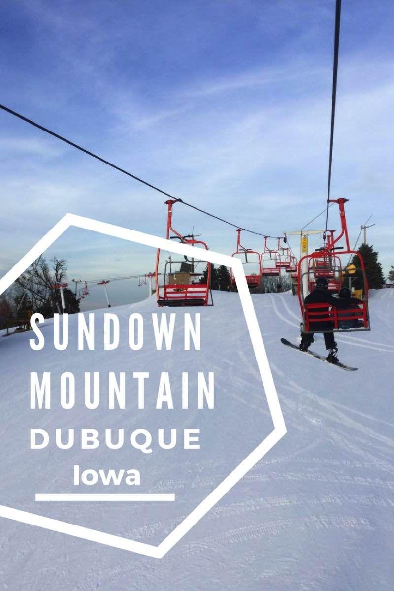 learning to ski at sundown mountain dubuque, iowa | dubuque iowa