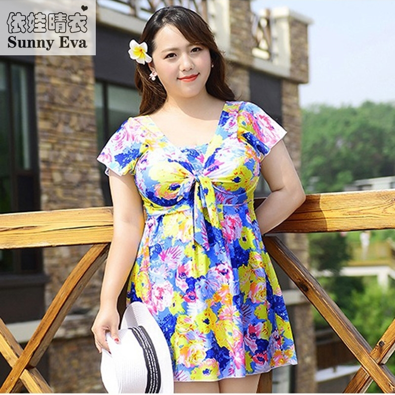 22.36$  Buy here - http://ali5mx.shopchina.info/go.php?t=32788314431 - Sunny eva Swimwear large sizes 6xl swimming dress for woman brand swimming suit for women one piece bathing suit birthday suit 22.36$ #bestbuy
