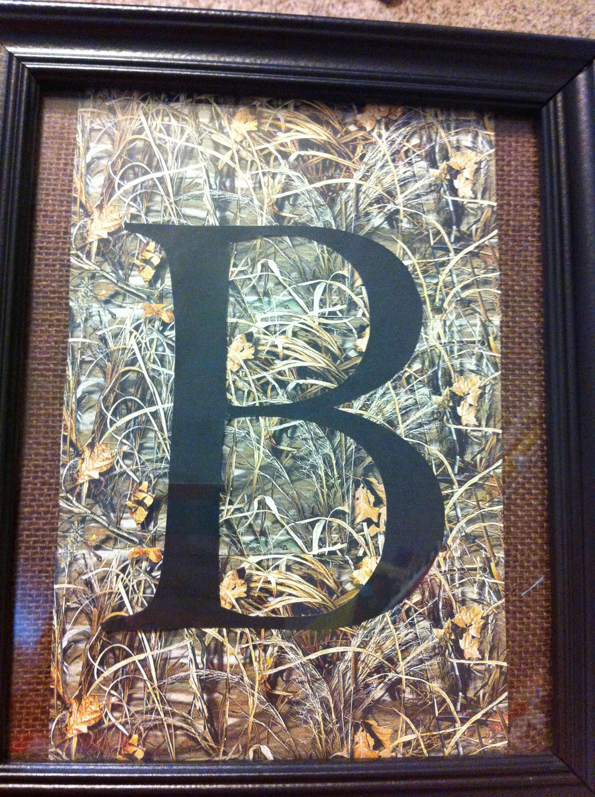 Made This For A Duck Hunting Baby Shower