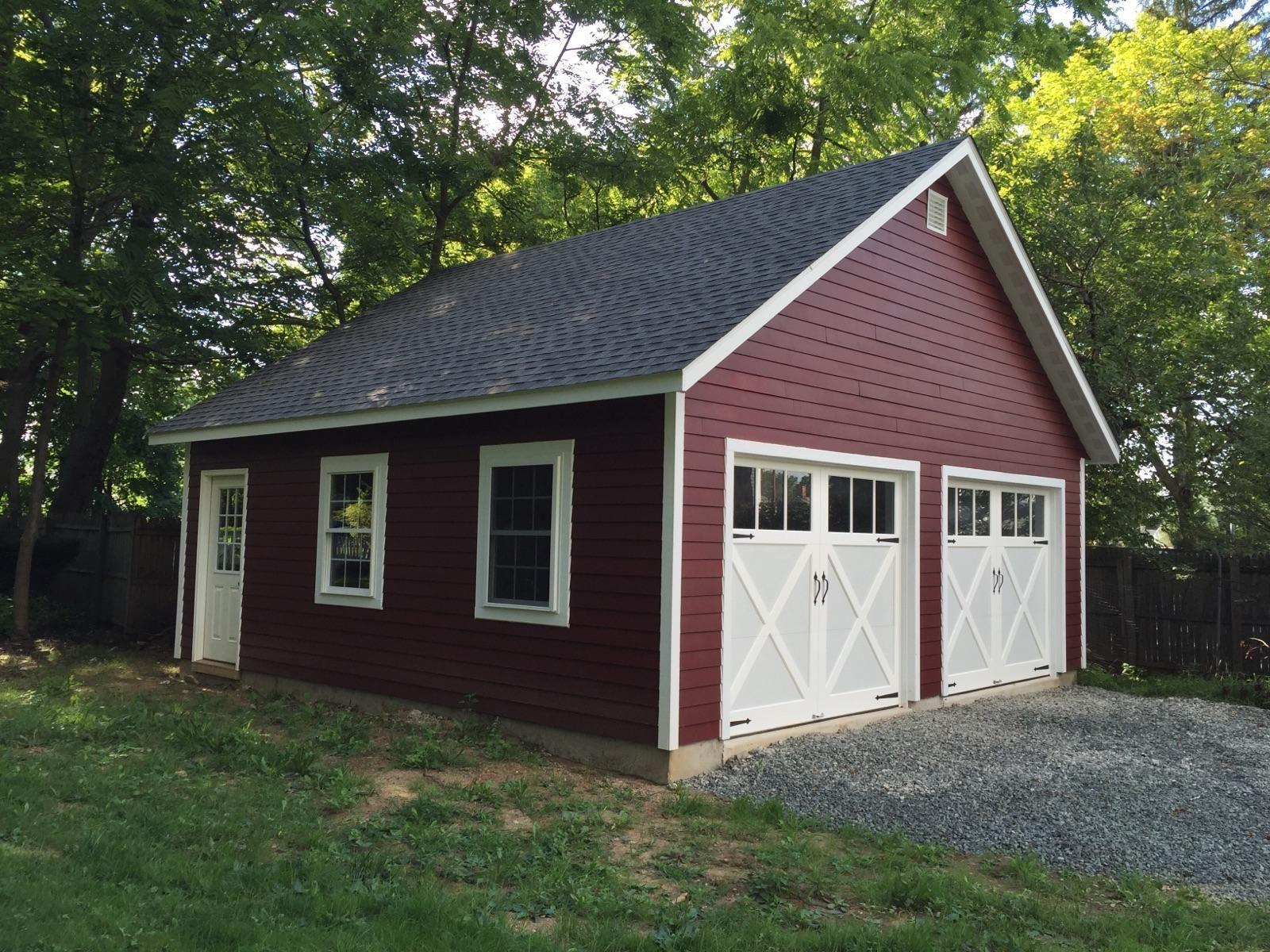 Garages Amish Garage 1 Car Garage 2 Car Garage 3 Car Garage Garaj