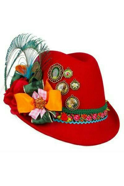Ladies Alpine Hat Oktoberfest Hat German Costume German Hats