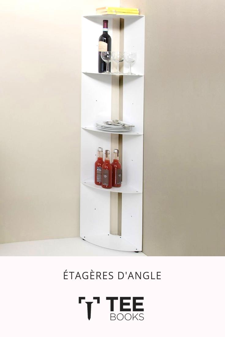 Vente Etagere Angle Dangolo Acier 25x25x70cm Petit Meuble D Angle Etagere Angle Etagere Murale Angle