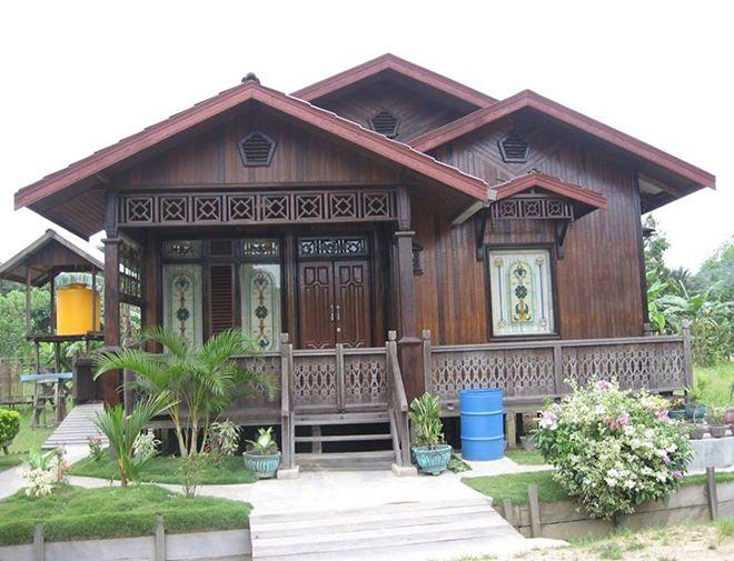 Kebanyakkan Rumah Papan Kayu Yang Dibina Semula Telah Digabungkan Dengan Design Moden Fiza Kongsikan Kat Sini Sebab Ber Rumah Kayu Thai House House Blueprints
