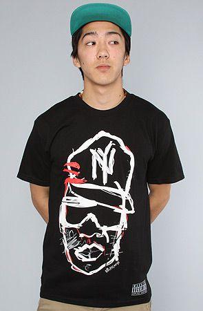 $28 The Hov 81 Tee in Black by RockSmith - Use repcode SMARTCANUCKS for 10-20% off on #karmaloop - http://www.lovekarmaloop.com