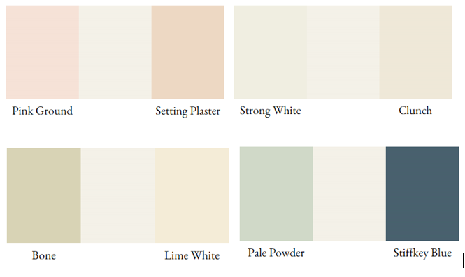 Farrow Ball S Wimborne White Is Only A Shade Away From Pure White The Warm Yellow Undertones Create A Vers Wimborne White Stiffkey Blue Yellow Colour Scheme