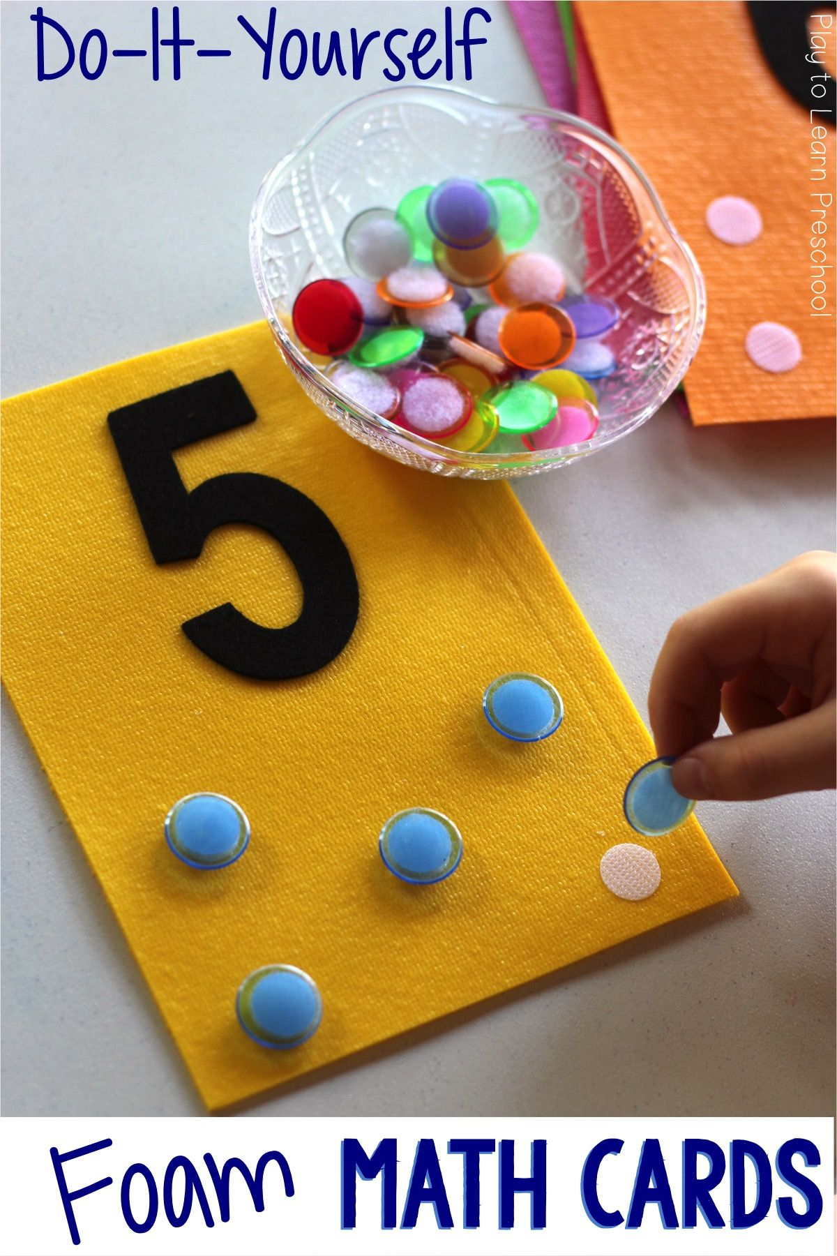 These Easy Foam Math Cards Hit The Spot With Students