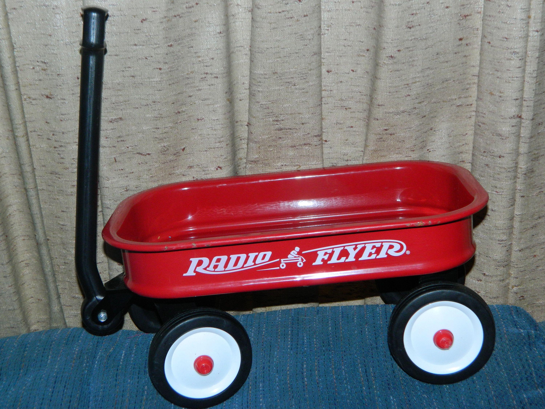 A Vintage Radio Flyer Little Red Wagon Fill It With Dolls And Red Wagon Little Red Wagon Vintage Radio