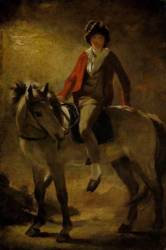 Henry Raeburn (1784–1863) on a Grey Pony