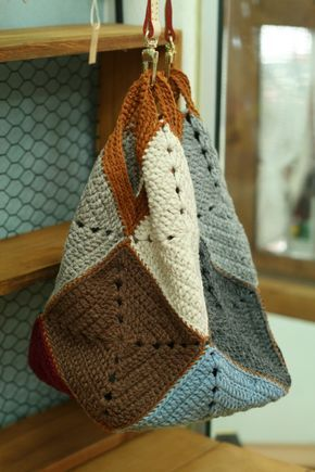 5번째 이미지 | Crochet | Pinterest | Tasche häkeln, Muster und ...