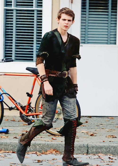 Robbie Kay Peter Pan Costume