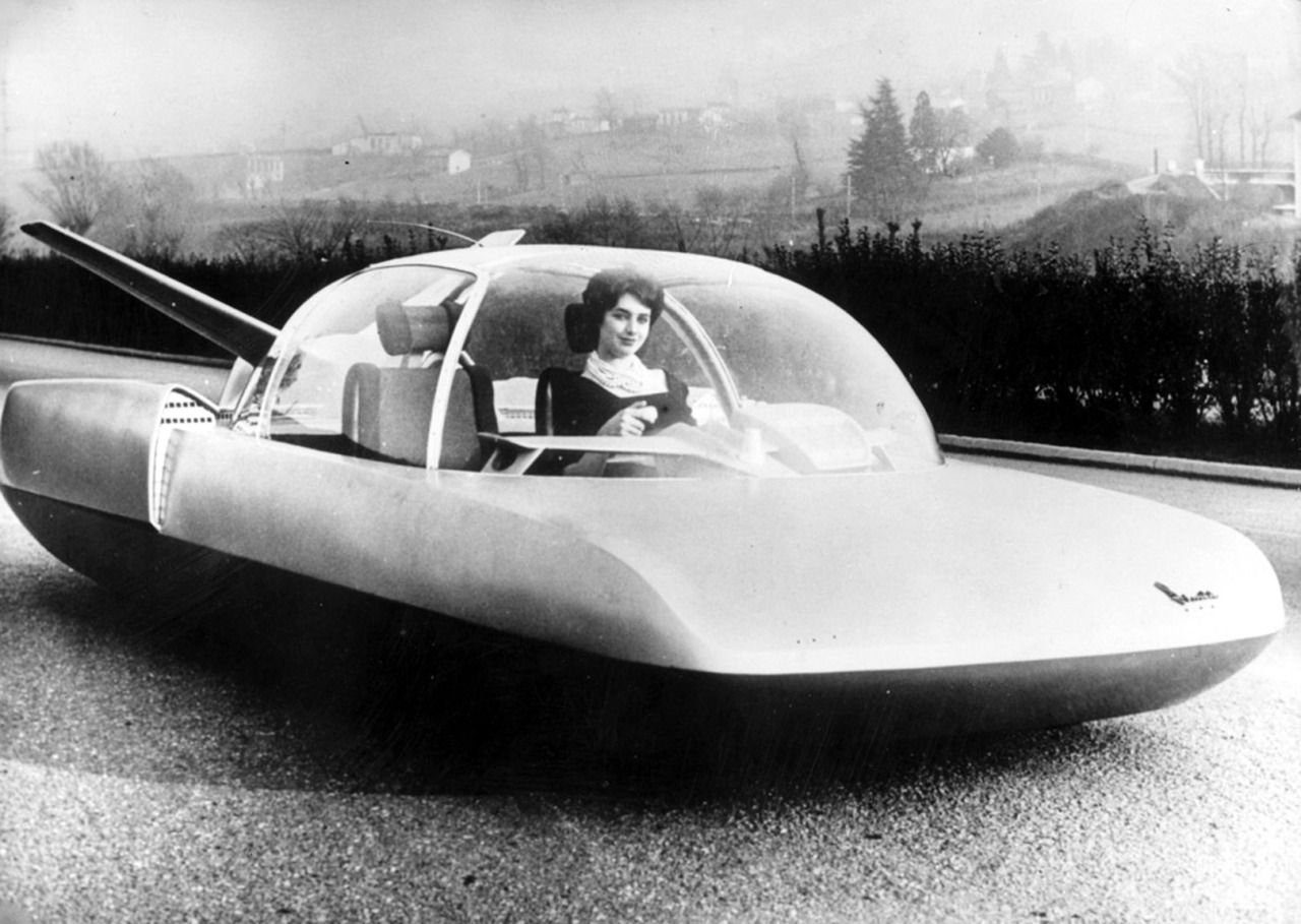 Simca Fulgur Experimental, 1958.