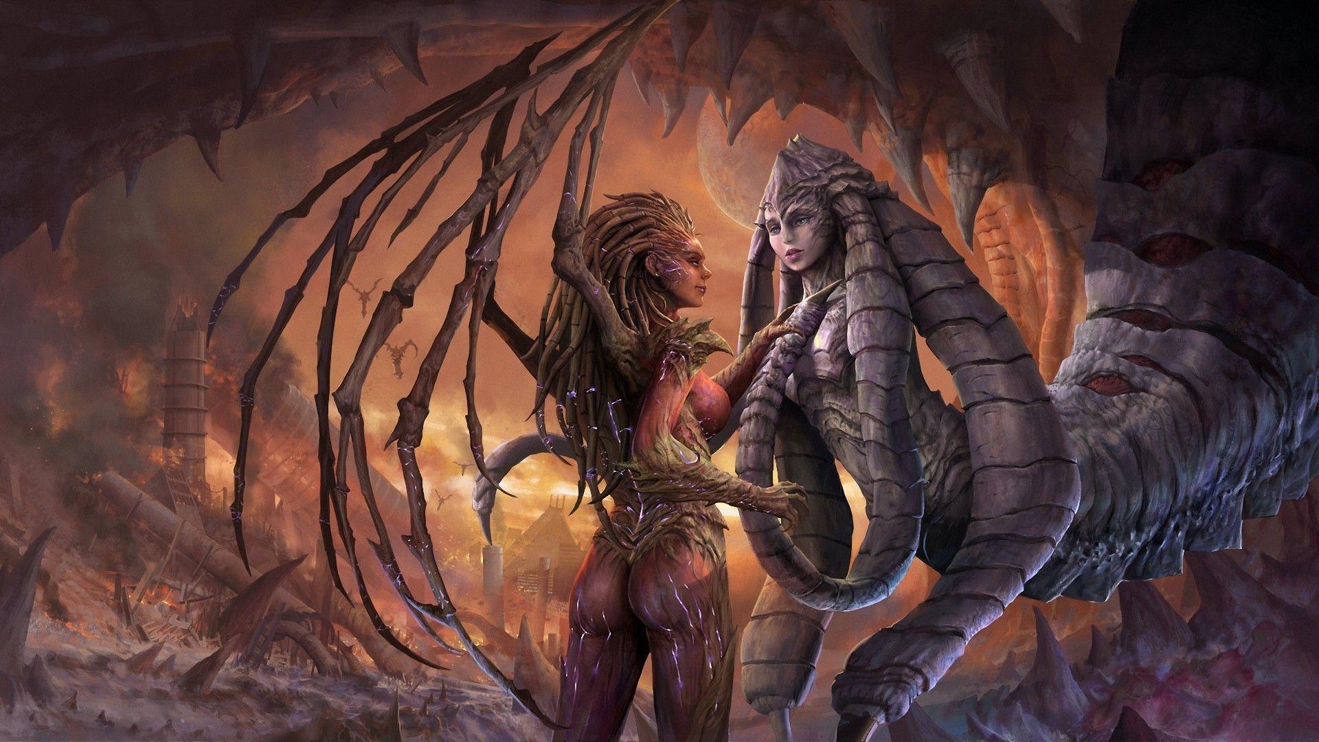 Pin by Alex Mercer on *Dragones* | Starcraft, Kerrigan
