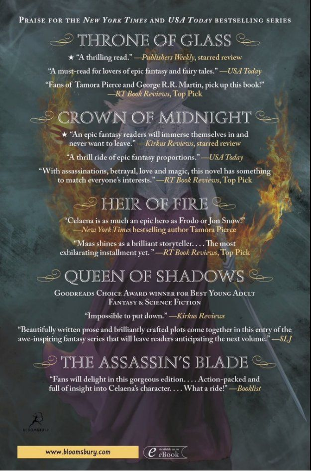 Finally The Back Cover For Empire Of Storms Throne Of