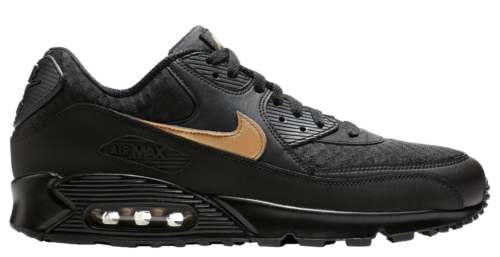 9e4b2ed704ac NIKE-AIR-MAX-90-V7894-001-MEN-039-S-Black-Gold-Essential-Shoes-c1 ...