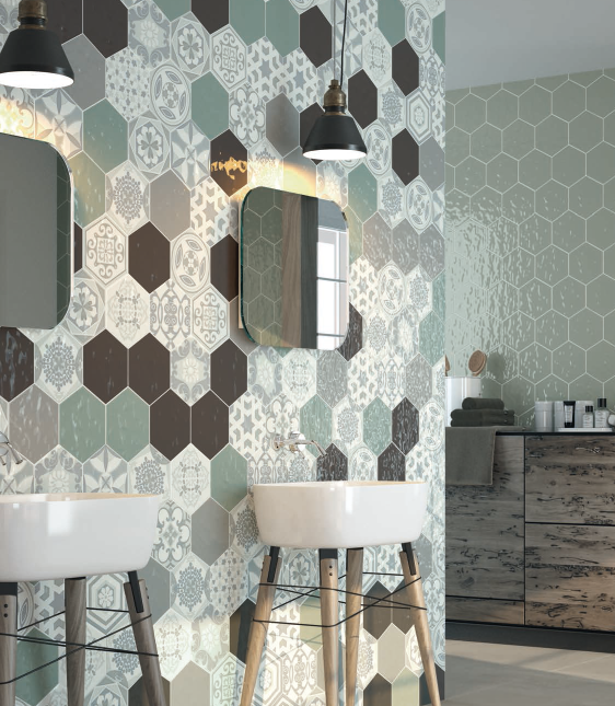 Resultat De Recherche D Images Pour Carreau De Ciment Hexagonal