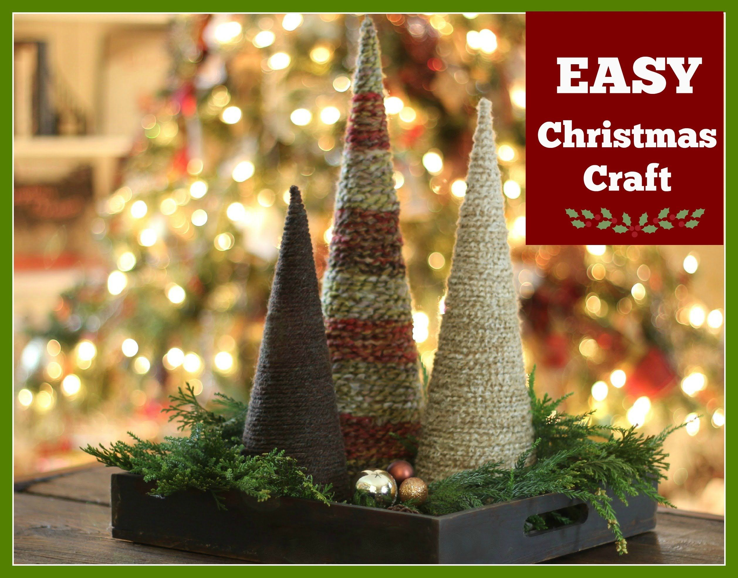 Attractive Youtube Christmas Craft Ideas Part - 10: Christmas Tree · Christmas Craft Idea - YouTube