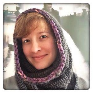Schneller Kapuzenschal Kuschelig Warm Hood Scarf Easy Crochet