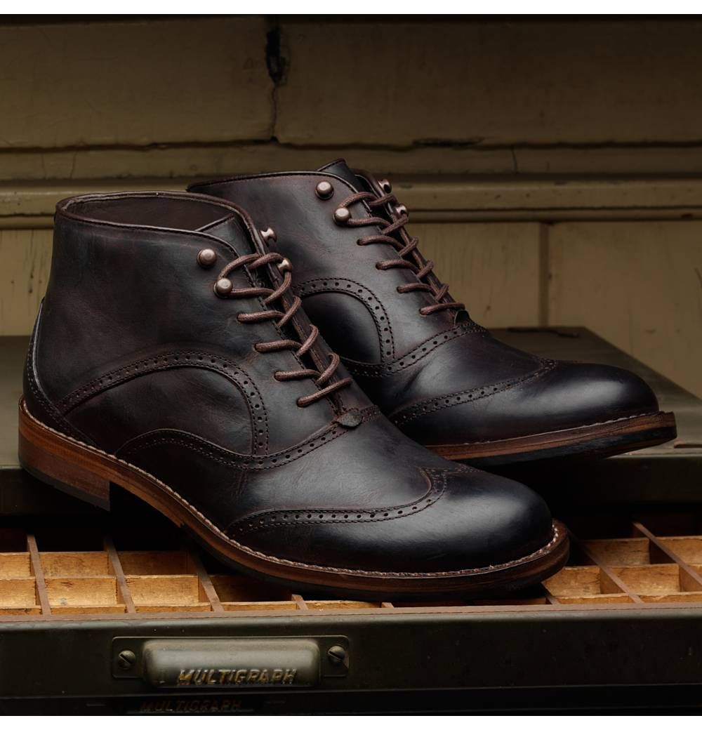 Wesley 1000 Mile Wingtip Chukka Boot | Mens casual boots, Boots ...