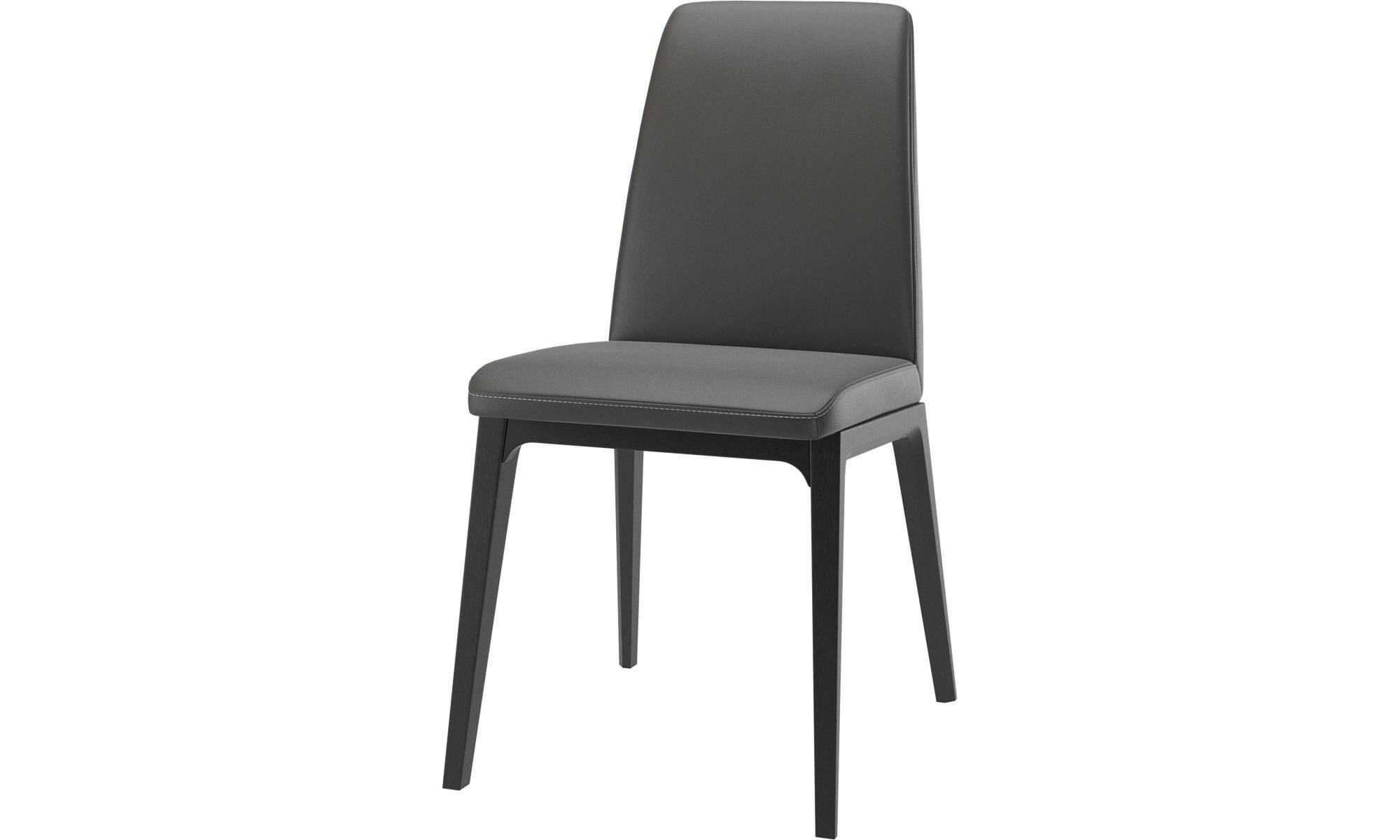 Dining Chairs Lausanne Chair Gray Leather With Images