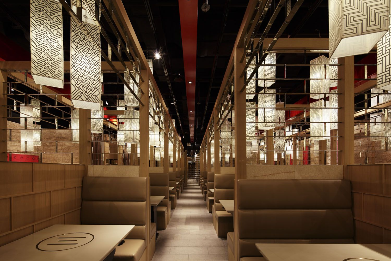 Korean restaurant interior design google search