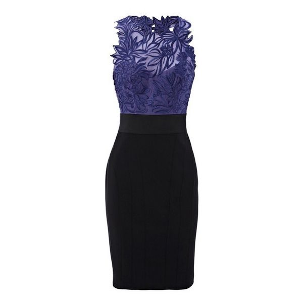 Love this lace top in purple mixed with black.  Easy on for a simple dinner with friends.
