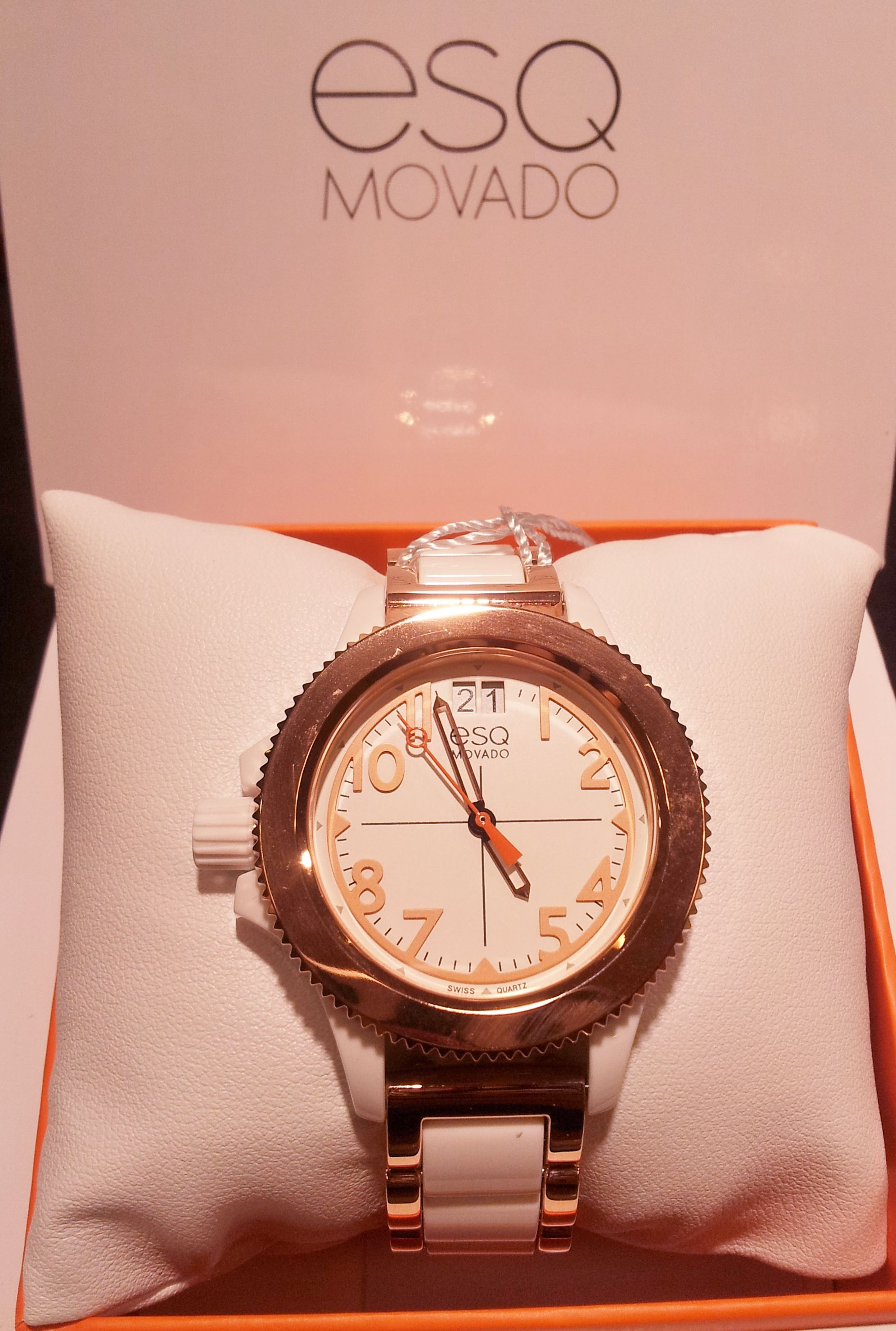 amorosa movado ladies esq inc time watches solar index watch