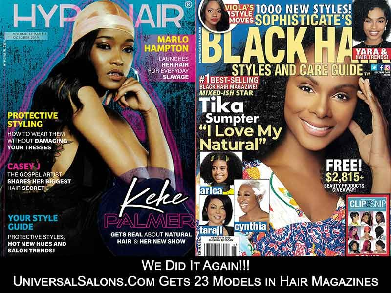 Help Us Choose The New People S Choice Hairstyle Black Hair Magazine Honey Blonde Hair Top Hair Salon