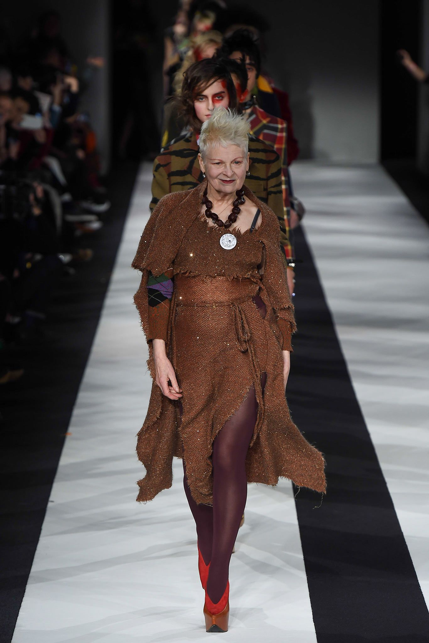 Vivienne Westwood Red Label FallWinter 2014-2015 Collection – London Fashion Week