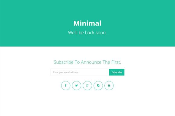 FREE this week - March 16 - Check out minimal - coming soon page ...