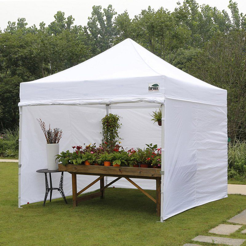 Commercial Instant Canopy with Zippered