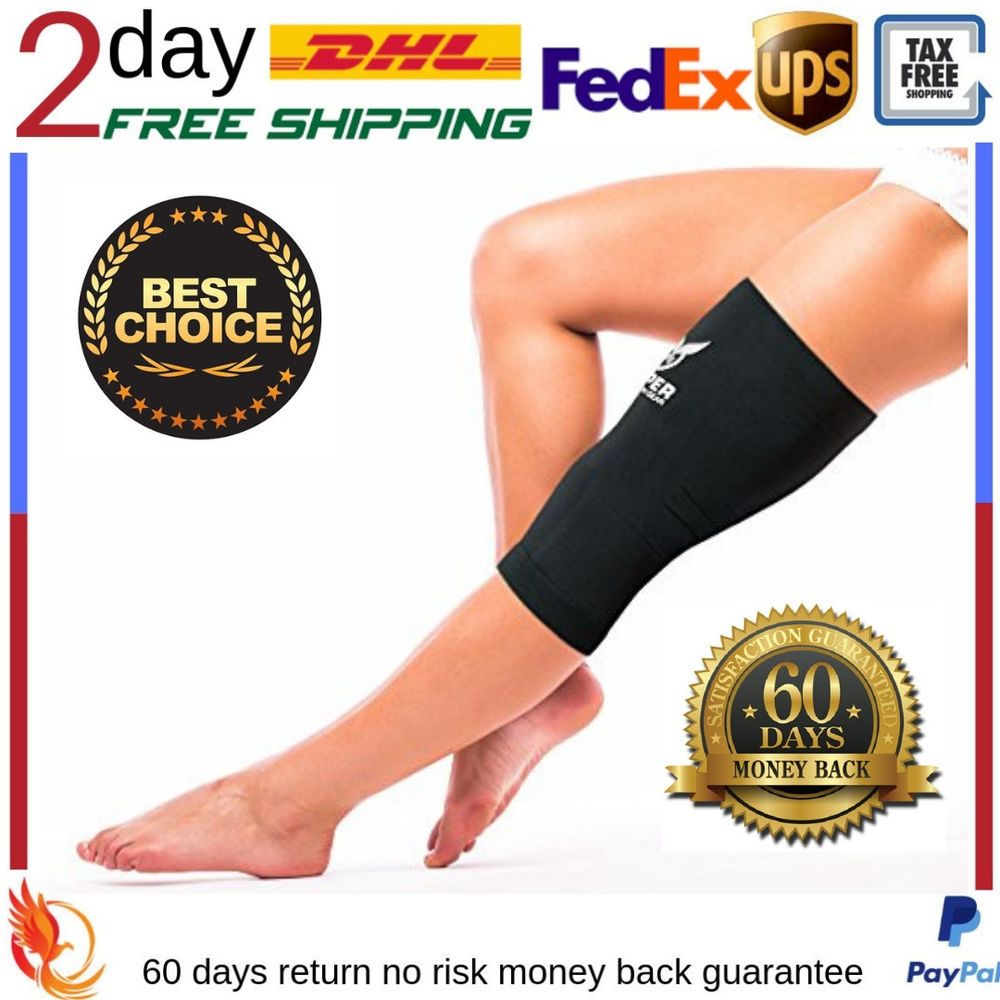 Copper compression knee sleeve wrap brace supports gear