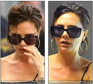 Today S Celebrity Cold Sore Siting Victoria Beckham Cold Sore Cold Sore Stages Celebrities