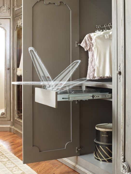 Genius Flip Top Ironing Board Drawer Habersham Dressing Room