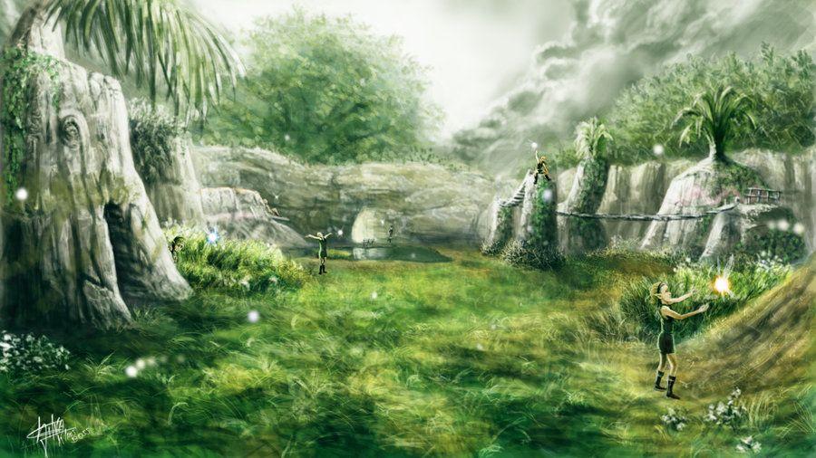 Kokiri Forest by KlausBoss on deviantART | My Legend of