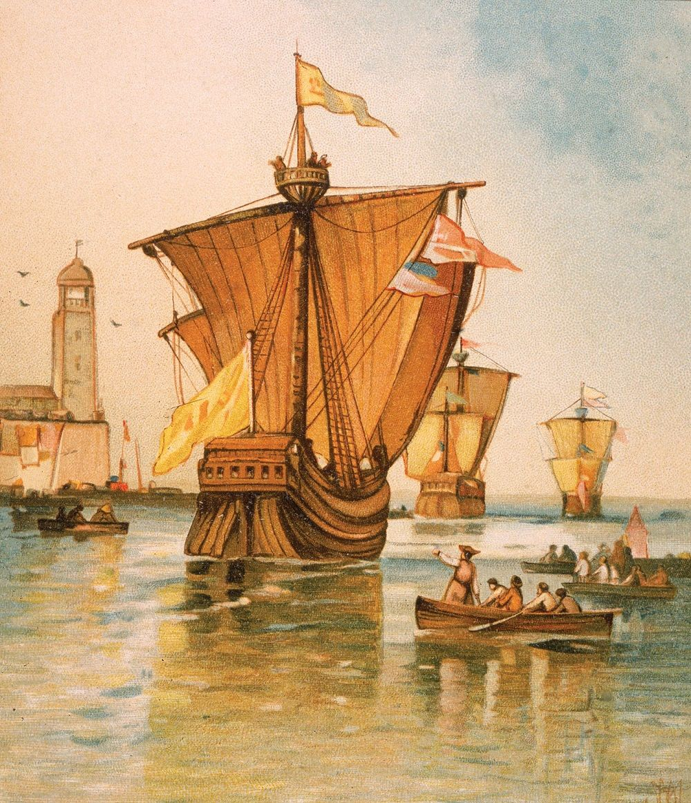 On His First Voyage, Christopher Columbus Had Three Ships