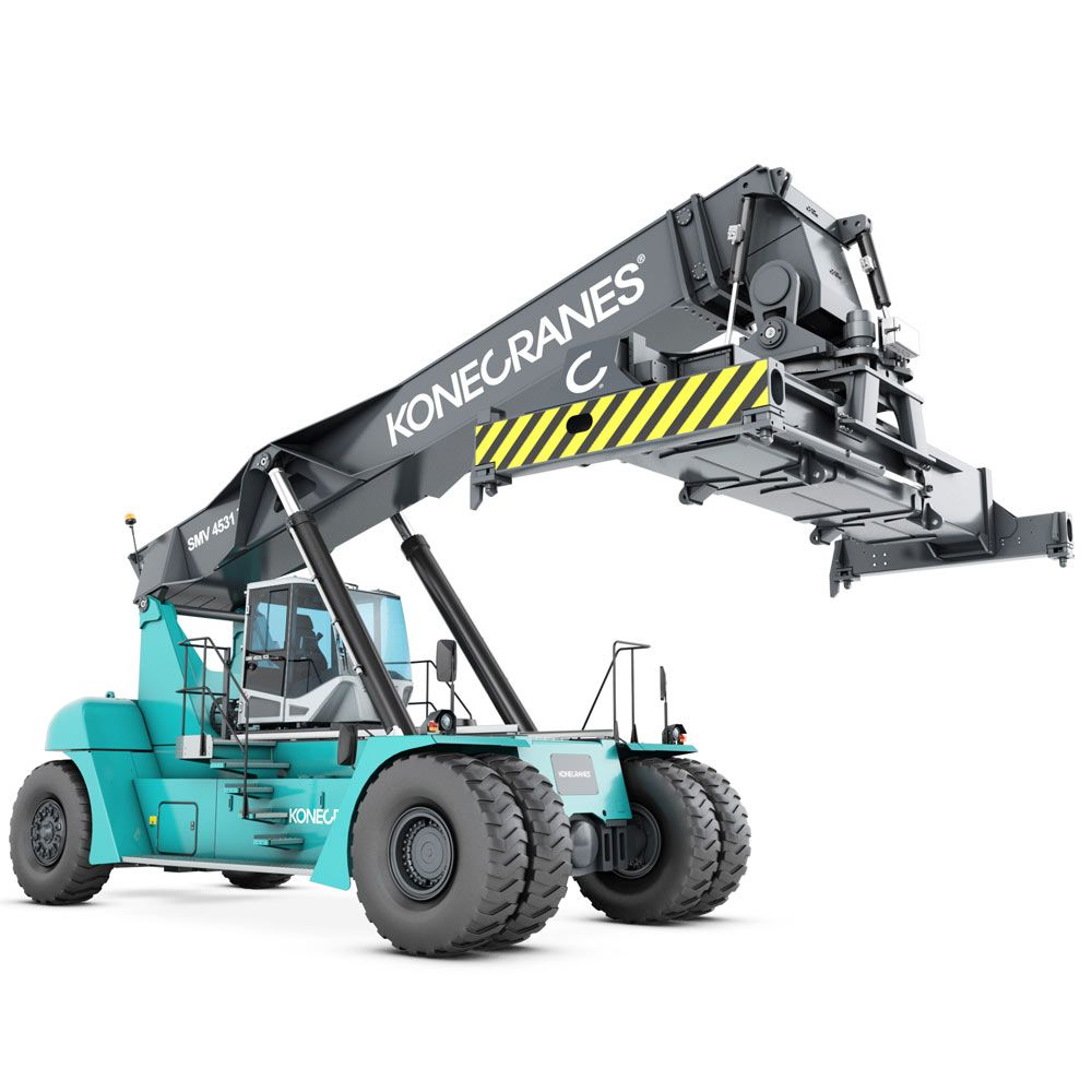 Largest range of Reach Stackers & Container Handlers for