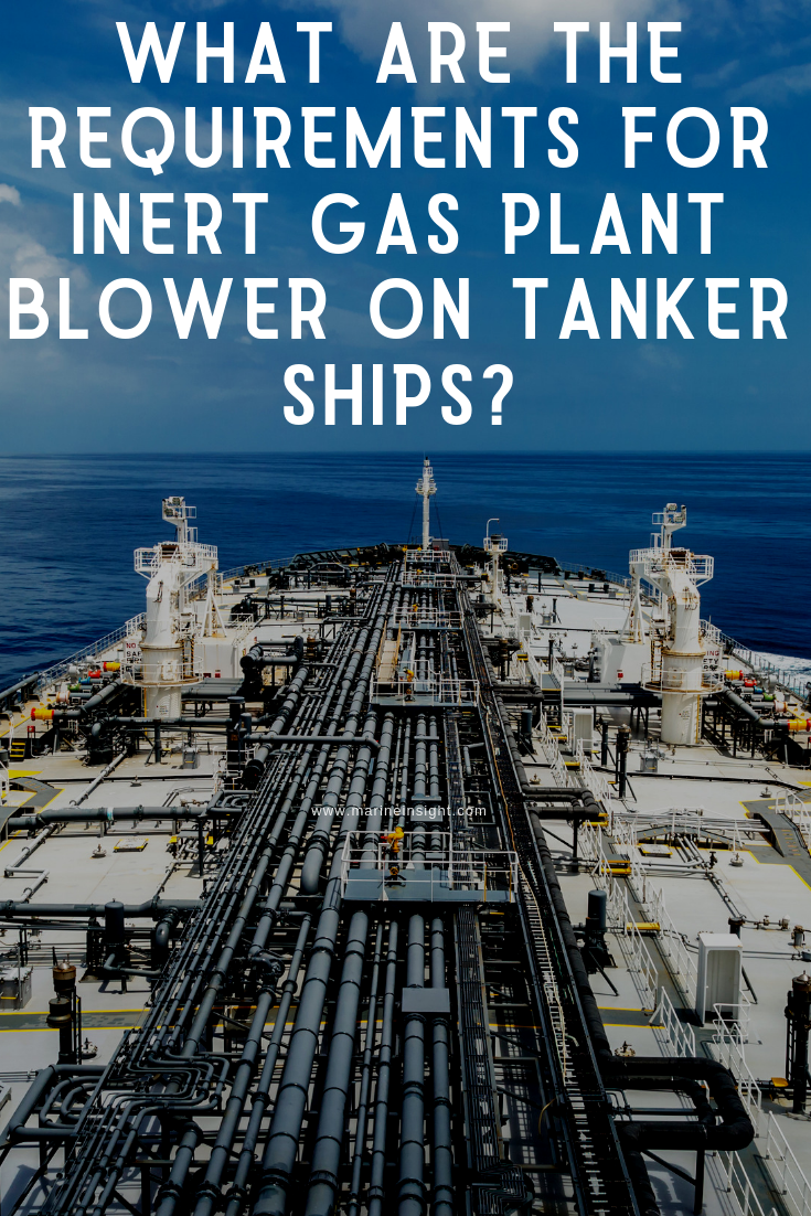 What are the requirements for Inert Gas Plant Blower on