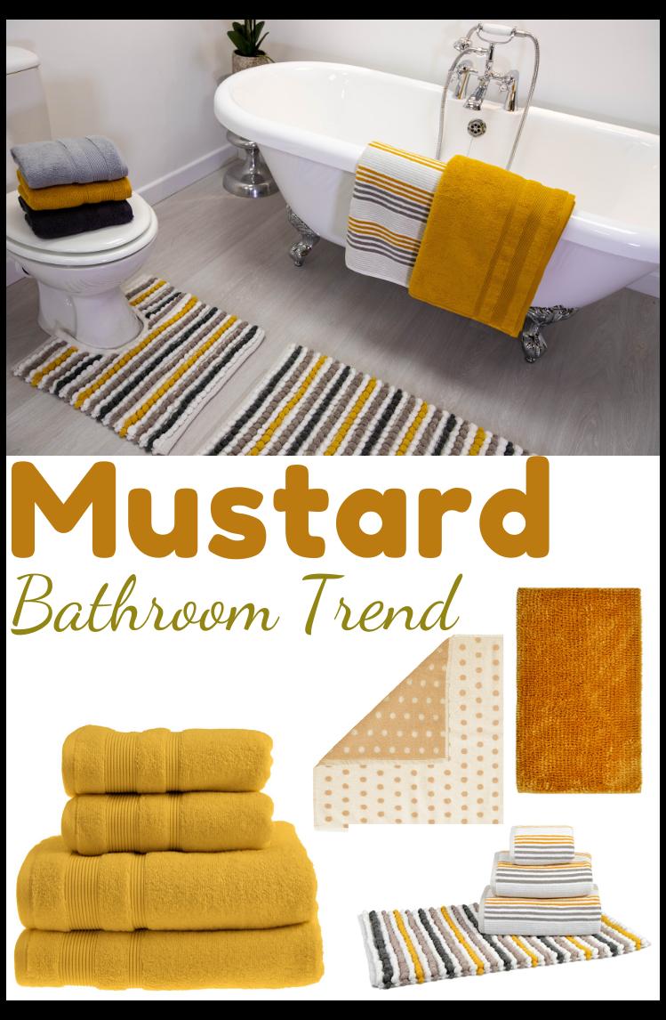 Mustard Colour Bathroom Trend Mustard Bathroom Accessories Embrace The Mustard Bathroom T Yellow Bathroom Accessories Yellow Bathroom Decor Yellow Bathrooms