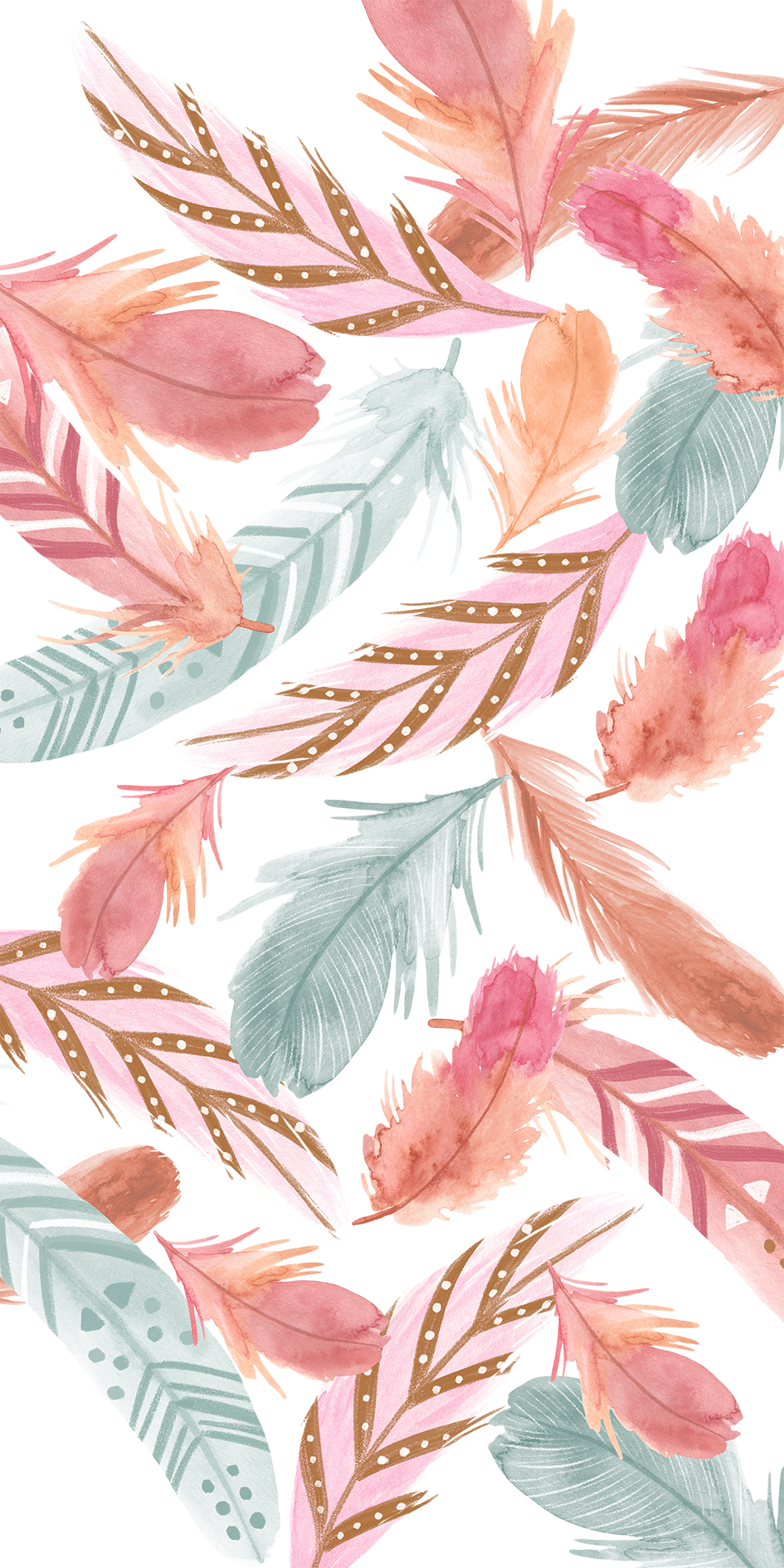 Plumas Feather Wallpaper Pretty Wallpapers Iphone Art